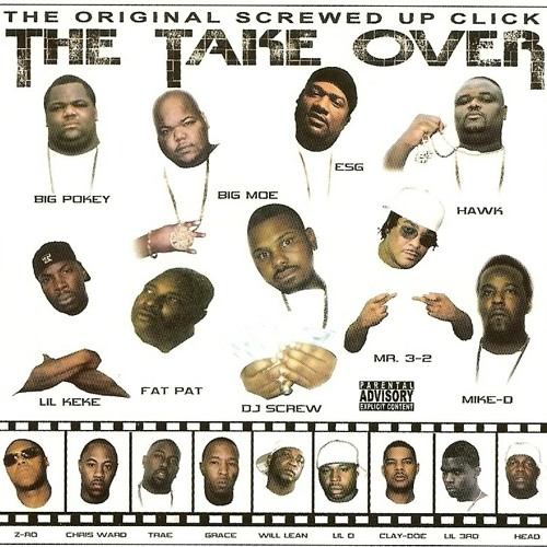 Dj Screw Lil Keke Key-C & Dave from tha 4 - Maan Dat Boy Done Wrecked(Slowed and Throwed)BY: DJ BUD