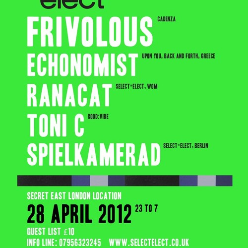 Ranacat @ S*E - Hoxton Basement - 28.04.12 for Pulse Radio
