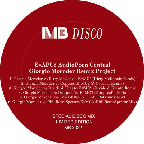 Giorgio Moroder vs Copycat - E=MC2 (A Copycat Remix) - 96kbps