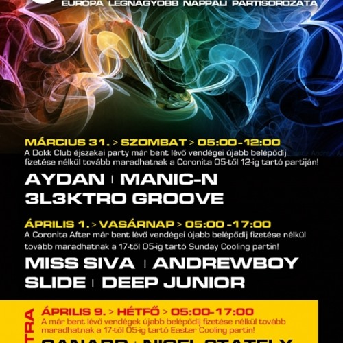 Aydan ManicN 3l3ktroGroove Coronita Live (2012 03 31)