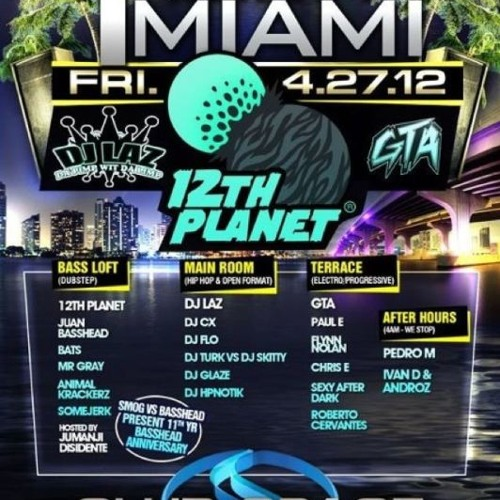 GTA Live from Space Terrace, Miami  04-27-12