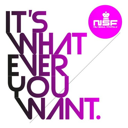 Nu Soul Family - It's Whatever You Want (Sick Individuals Main Mix)