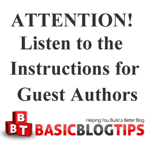 Ms. Ileane Speaks - Guest Blogging on Basic Blog Tips