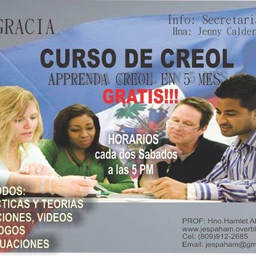 PRIMERA PARTE .IBG CURSO DE CREOL  AUDIO ( YO SOY)