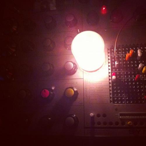 Mikael Jorgensen: Live at Zebulon 05-01-2012 EMS Synthi & Ableton