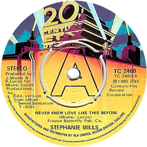 Stephanie Mills - Never Knew Love Like This Before [Strelka Sounds Edit]