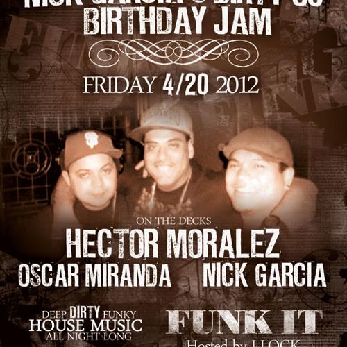Nick Garcia Live @ Funk It 4-20-12