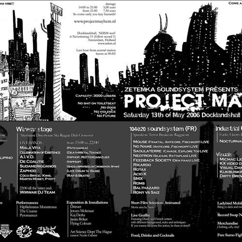 Project Mayhem (NDSM Amsterdam)