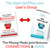 TheStart-upofYou.com  Radio Networking - How to get your product onto QVC or HSN (made with Spreaker)