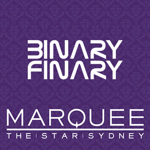 Binary Finary - Marquee Sydney Mix (4th May 2012)