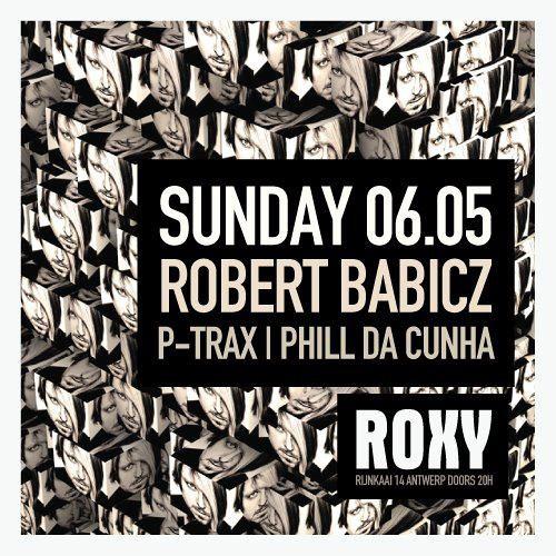 PHILL DA CUNHA - WARMING UP ROBERT BABICZ AT ROXY - MAY 2012