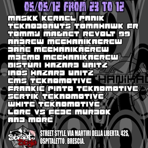 MASKK@ACID SUMMER CALLING BRESCIA 5-5-2012