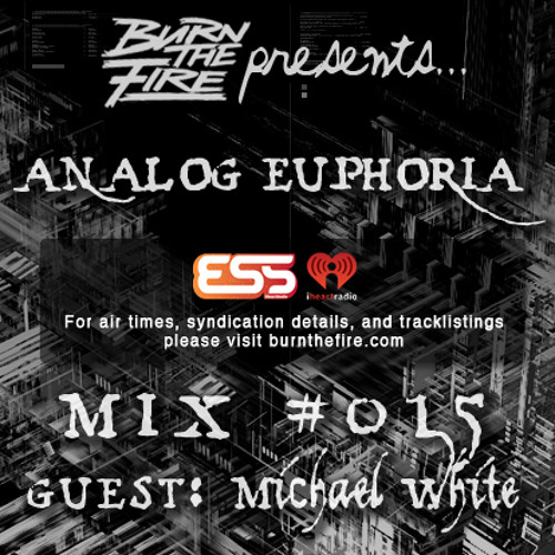 Burn The Fire Radio Show: Analog Euphoria #015 — ft. Michael White