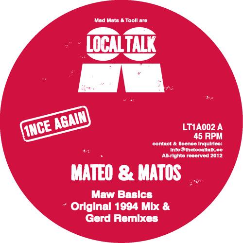 Mateo & Matos - Maw Basics (Gerd's NY STOMP Mix) LT1A002, Side B)