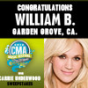 CMA FEST WITH CARRIE UNDERWOOD Sweepstakes Winner William B.