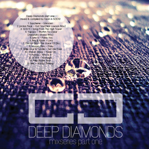 Deep Diamonds Pt.1 - mixed & compiled by Kevin Schreier in 05/2012