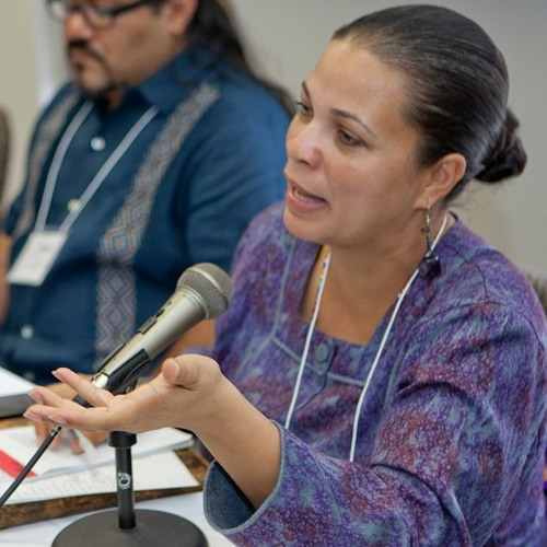 """@MelinaAbdullah at #FromTheAshes workshop """"From Criminalization to Empowerment"""""""