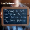 LEE FELDMAN 'Halo' (from 'Album No. 4' tbr MAY 15)