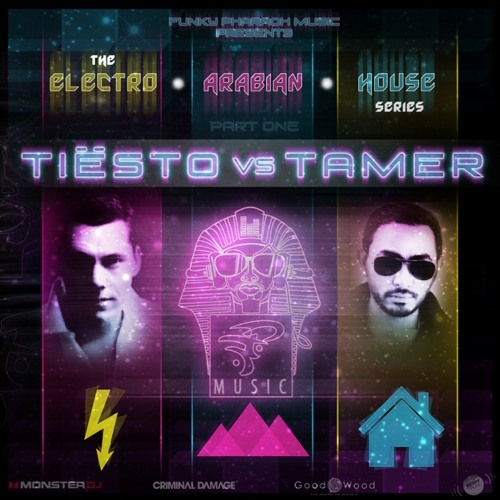 Tiesto Vs Tamer Hosny MegaMix - The Electro Arabian House Series - PART ONE