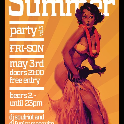 "DJ Funky Mosquito Aloha-Fri-Son Summer-Mix (Re-Propeller ""live"" Dynamite)"