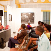 'my dear daddy' solo show: olivia mc gilchrist: artist talk at the CAG(e) Gallery, Kingston, Jamaica
