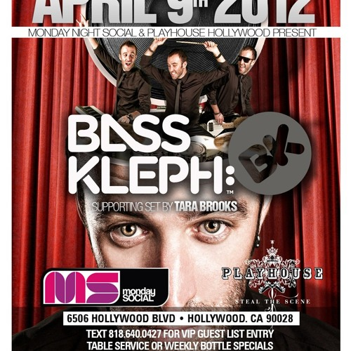 Bass Kleph Live: Playhouse Hollywood, LA [09.04.2012]
