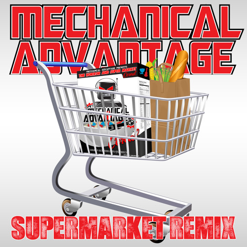 Aliman - Super Market (GPK remix) / GPK - MAD Face MAD023 !!OUT NOW!!