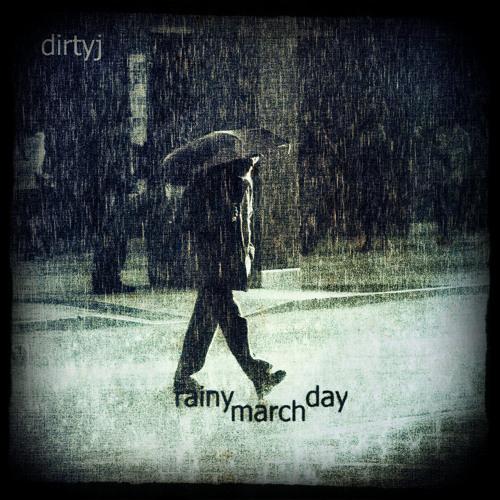 rainy march day