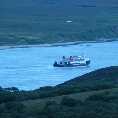 Fiona's Farewell to Port Askaig