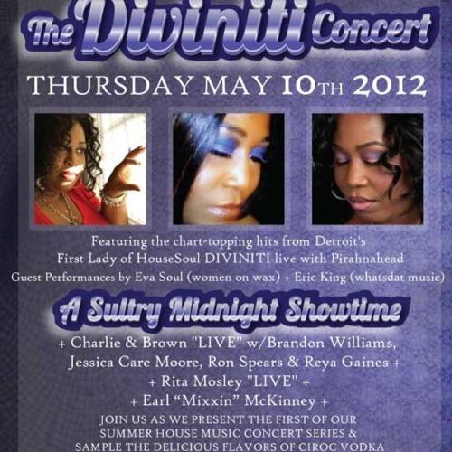 Diviniti's Showcase @ L!V, wsg Eva Soul & Special Pirahnahead DJ Set_MAY 10, 2012