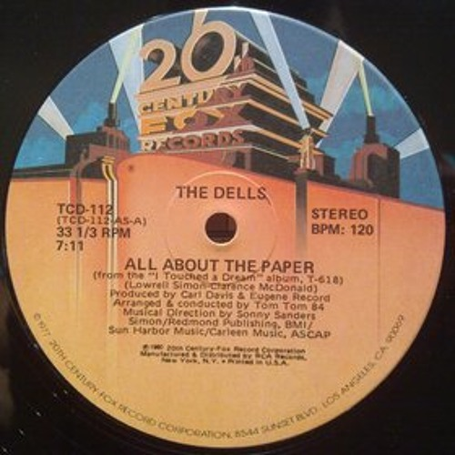All About The Paper/The Dells - Disco Dubb Edit