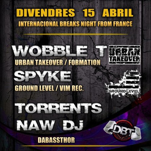 Wobble T + Mc Rvee @ Dabassthor Mandawa Barcelona 15/04/2011 PT1