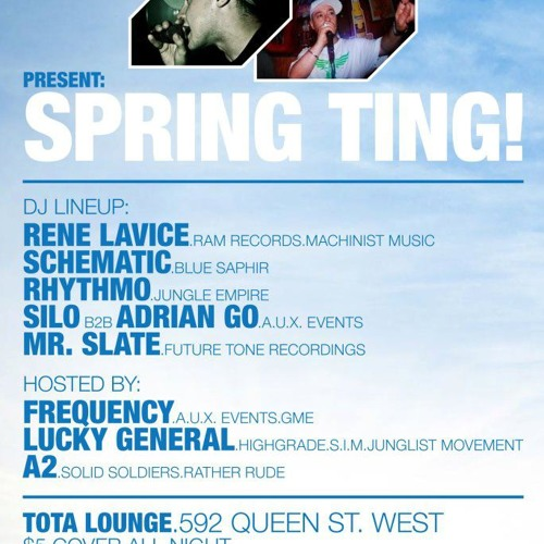 Schematic - Live @ Spring Ting /w MC's Frequency, A2, Lucky General