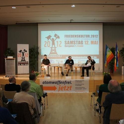 Friedenskultur 2012: Auftaktplenum mit Giorgio Franceschini (HFSK)