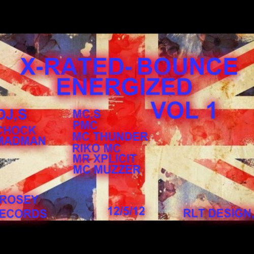 X-RATED-BOUNCE ENERGIZED VOL 1