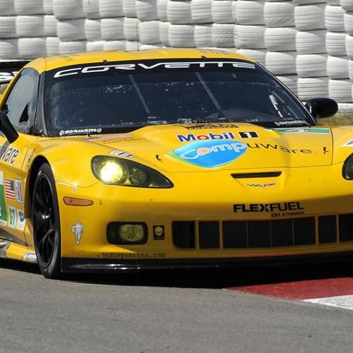 Corvette C6.R Idling