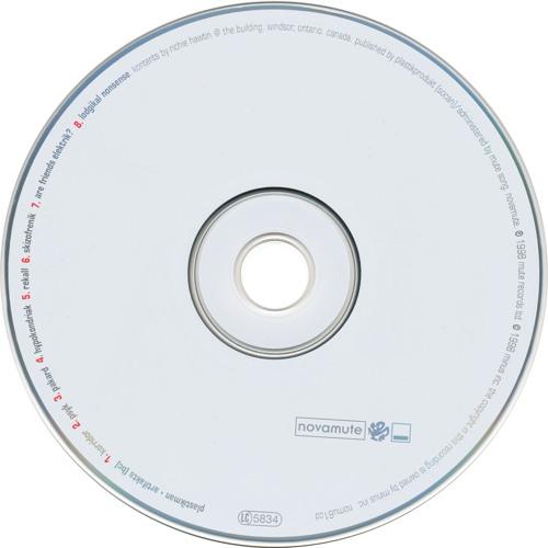 Plastikman: Rekall (1998) MINUS3