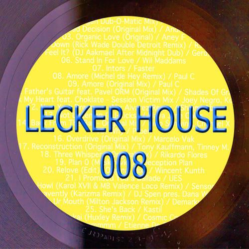 LECKER HOUSE - 008 - DJ SET 14.05.2012