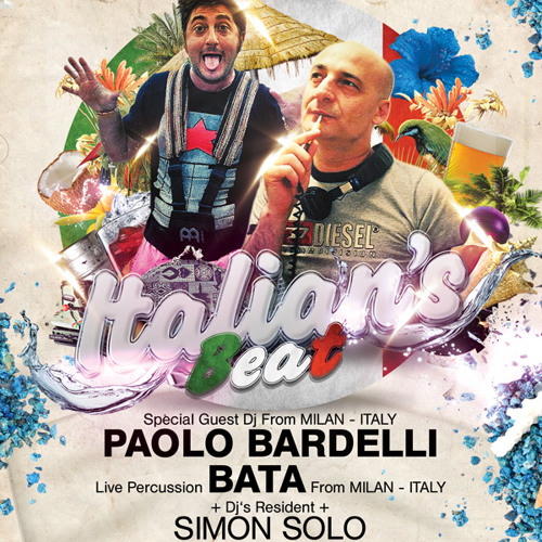 01 Paolo Bardelli & mr Bata  live percussions SOLO @ Koh Samui THAILAND 2012 may part 1
