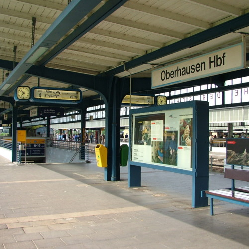 Matt Davies - Oberhausen Hauptbahnhof