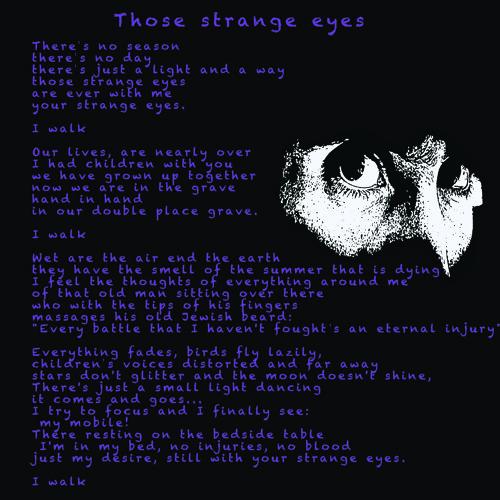 Those Strange Eyes