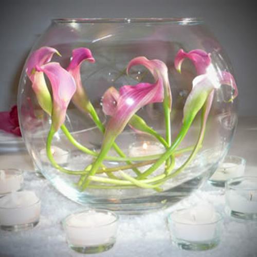 pink magnetic fishbowl