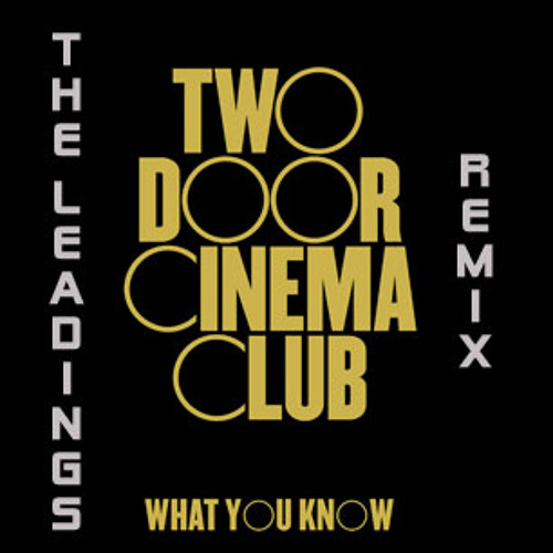 Two Door Cinema Club - What you Know - The Leadings Remix 2012