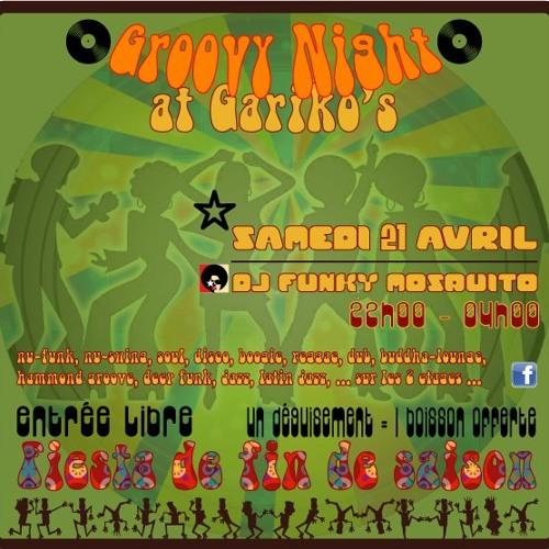 DJ Funky Mosquito Gariko Haute-Nendaz-Mix (Mix Seex Fin de soirée paarty)