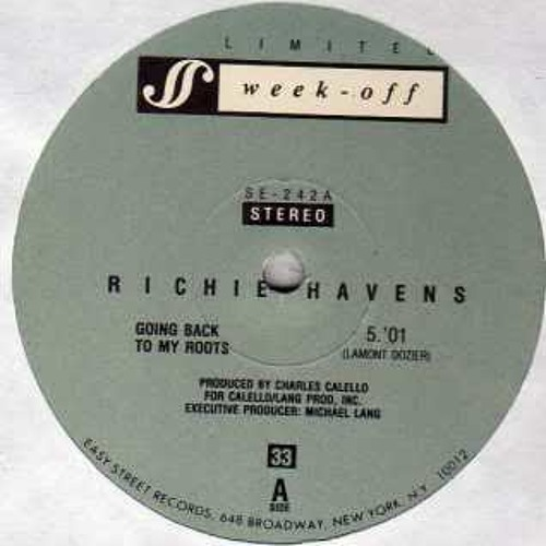 Richie Havens-Going back to my roots ( Re-edit by EP)