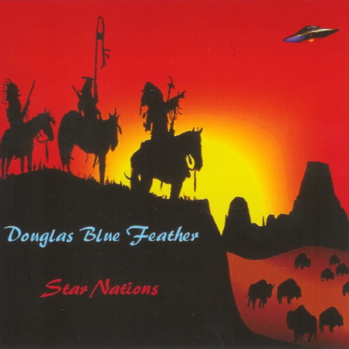 Douglas  Blue Feather, Robin Evans, Charles Thaxton, Joy Davis-Star Nations-04-Southwest Skies
