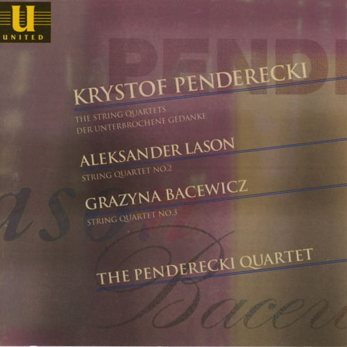 Aleksander Lasoń - String Quartet No. 2