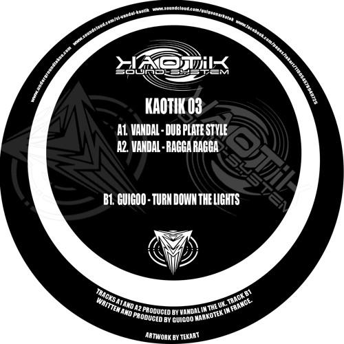 Guigoo -Extrait-turn down-Kaotik sound system 03