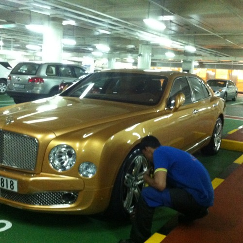 The Golden Bentley