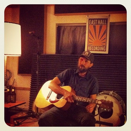 "Will Johnson (Centro-matic) 2012 live acoustic ""Trust To Lose"" song East Hall Recording Studio"